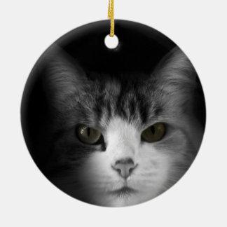 Cute Cat Ceramic Ornament