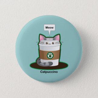 Cute Cat Coffee Button