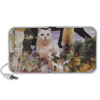Cute Cat Collage 4 Speaker System