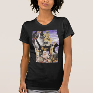Cute Cat Collage 4 T Shirt