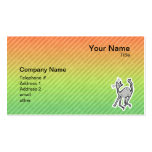Cute Cat; Colorful Business Cards