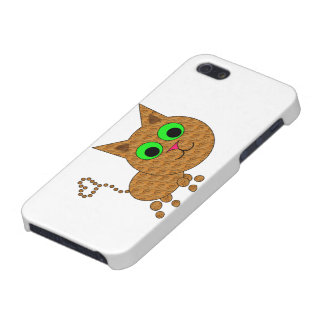 Cute Cat Cover For iPhone SE/5/5s
