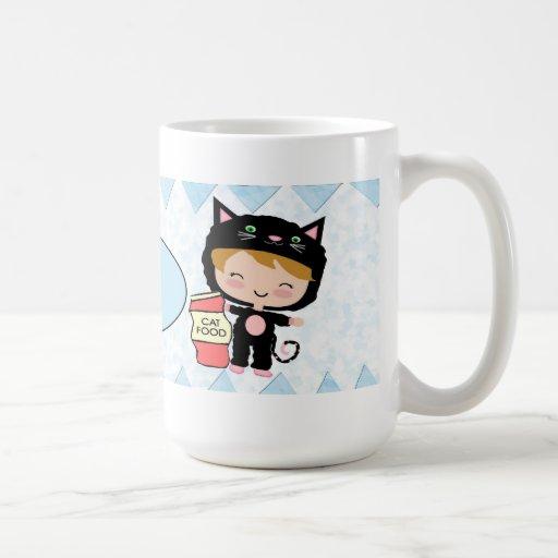 Cute Cat Dad Mug