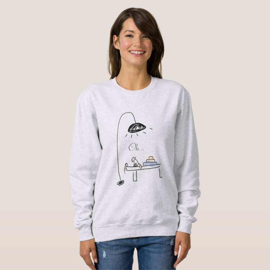 Cute Cat Doodle sweatshirt - Creative Long-Sleeve Fashion Shirt Designs