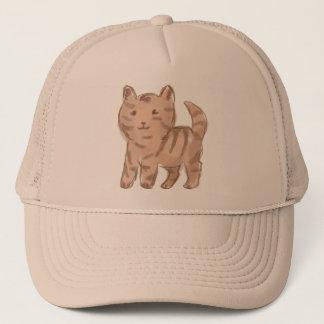 Cute Cat Drawing Trucker Hat