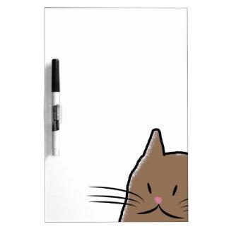 Cute Cat Dry Erase Board