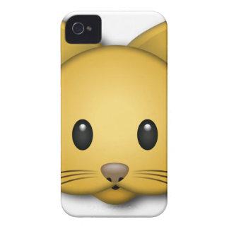 Cute Cat Emoj Style Design iPhone 4 Case
