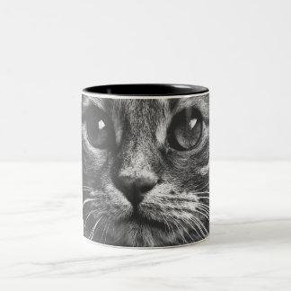 Cute Cat Face Close Up Print Coffee Mug