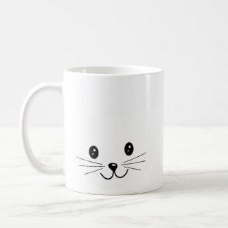 Cute Cat Face. Coffee Mug
