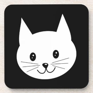 Cute Cat Face. Coasters