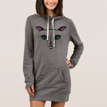 cute cat face dress