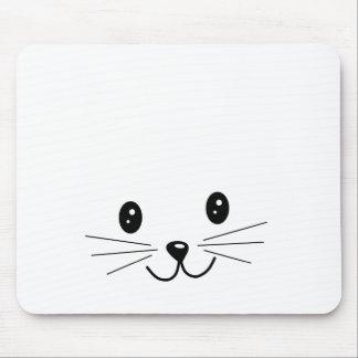 Cute Cat Face. Mouse Pad