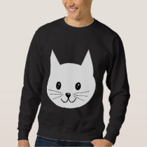 Cute Cat Face. Sweatshirt