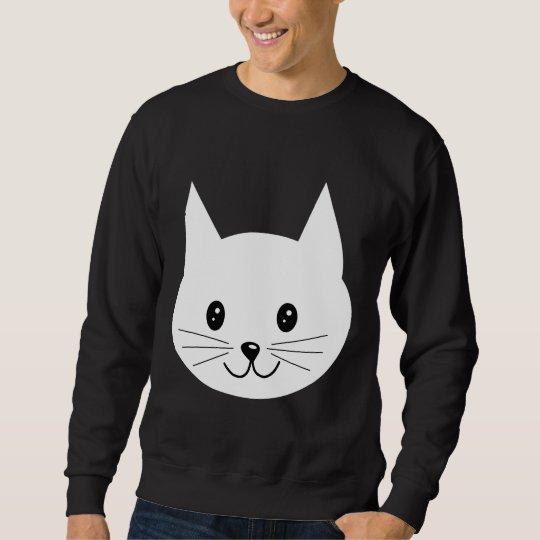 Cute Cat Face. Sweatshirt