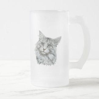 Cute cat Frosted mug
