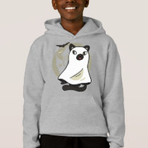 CUTE CAT GHOST HOODIE DESIGN