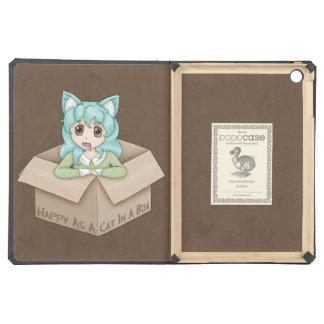 Cute Cat Girl In A Box iPad Air Case