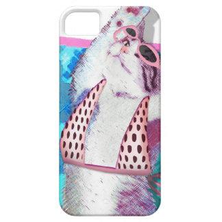 cute cat iPhone 5 ケース