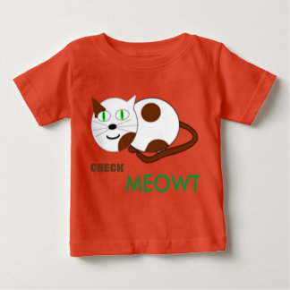 cute cat kiddies tshirt
