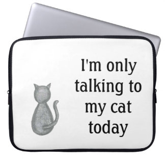 Cute Cat Laptop Case
