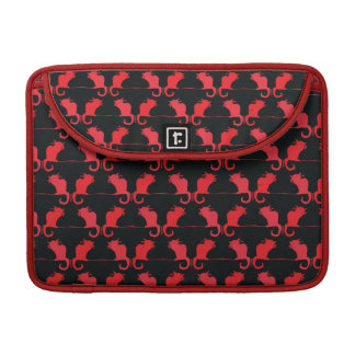 Cute Cat Lovers laptop bag. Sleeves For MacBook Pro