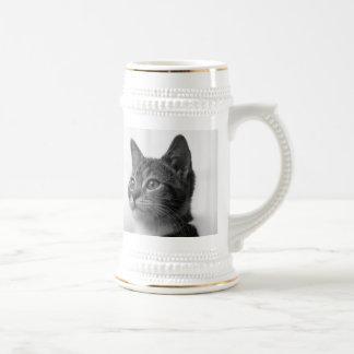 Cute Cat 18 Oz Beer Stein