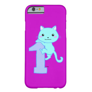 cute cat number 1 barely there iPhone 6 case