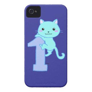 Cute cat number 1 iPhone 4 case