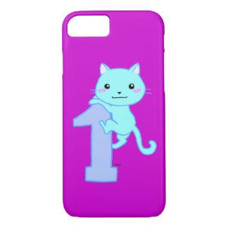 cute cat number 1 iPhone 8/7 case