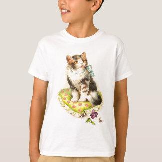 Cute Cat On Pillow T-Shirt