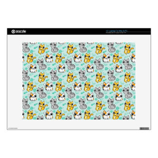 Cute Cat Pattern Decals For Laptops