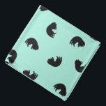 """CUTE Cat Pattern w Changeable Background Color Bandana<br><div class=""""desc"""">.</div>"""