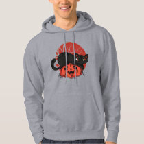 CUTE CAT PUMPKIN HOODIE DESIGN