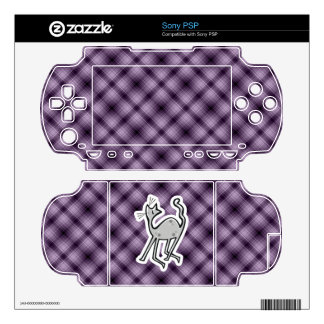 Cute Cat Purple Decal For The PSP