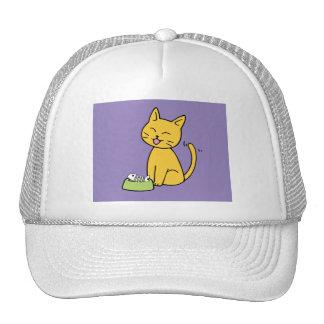 Cute Cat Purple Trucker Hat