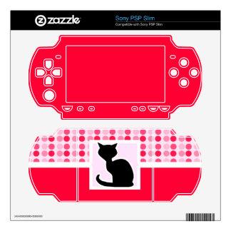 Cute Cat PSP Slim Skin