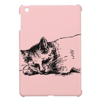 Cute Cat Sleeping iPad Mini Case