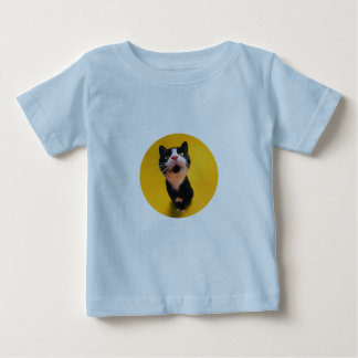 Cute cat staring at you baby T-Shirt