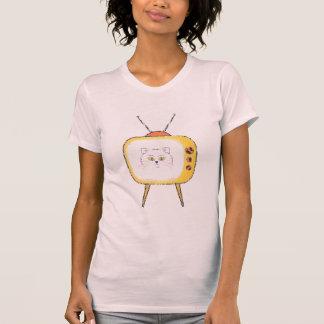 cute cat TV star tshirt design cat moms cat lovers