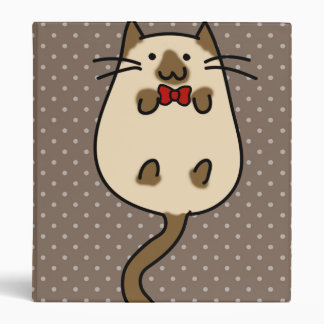Cute Cat with Bow Tie Binders
