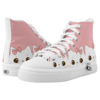 cute cat zipz shoes