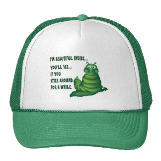 Cute Caterpillar Trucker Hat