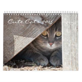 Cute Cats 2015 Calendar