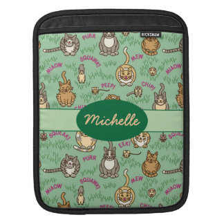 Cute Cats and Critters Sleeves For iPads