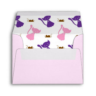 Cute Cats and Mice Envelope