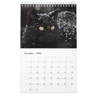 Cute Cats Calendar 2018