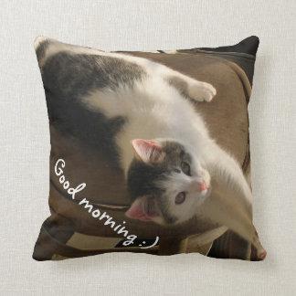 Cute Cats - Customizable - Throw Pillow