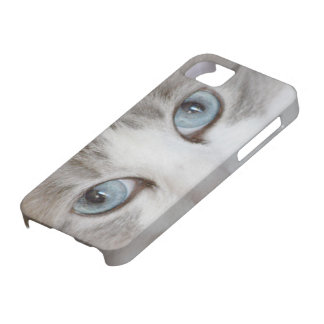 Cute Cat's Eyes iPhone 5 Case