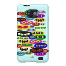 Cute Cats Eyes For Cat Lover Samsung Galaxy Case Samsung Galaxy  SII Cover at Zazzle
