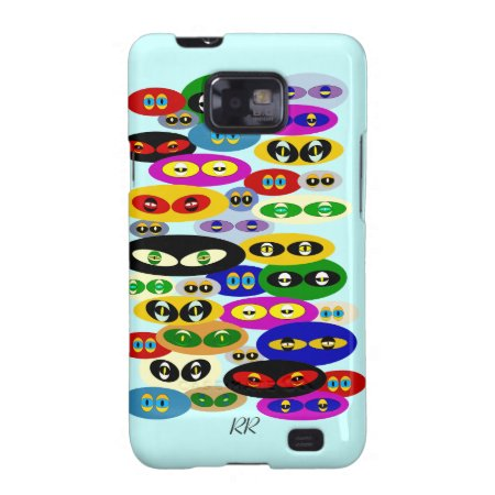 Cute Cats Eyes For Cat Lover Samsung Galaxy Case
